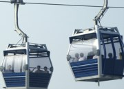 1-cable gondola lifts to Ngong Ping village in Hong Kong